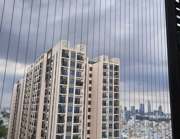 lưới an toàn chung cư, Lưới an toàn chung cư, lưu ý khi làm lưới an toàn chung cư, Sử dụng lưới an toàn chung cư, lưới an toàn, an toàn chung cư